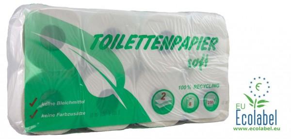 Toilettenpapier 2lg a 250 Bl. VE= 64 Rollen
