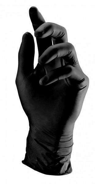 Einweghandschuhe black Gr. M VE=1