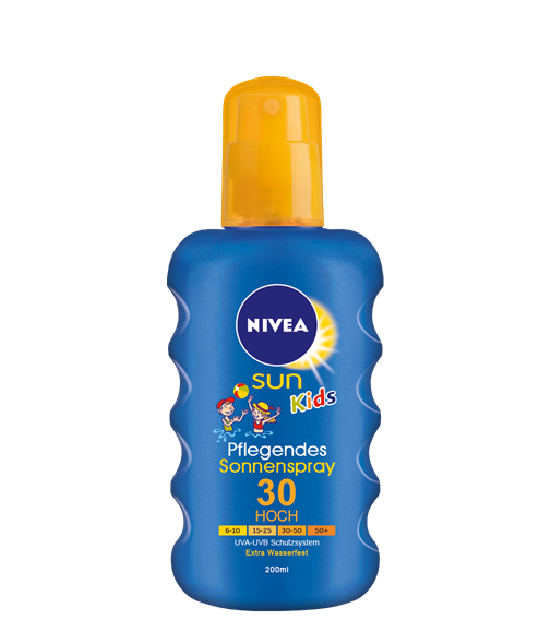 Nivea SUN Kids Spray LSF30 200 ml VE=6