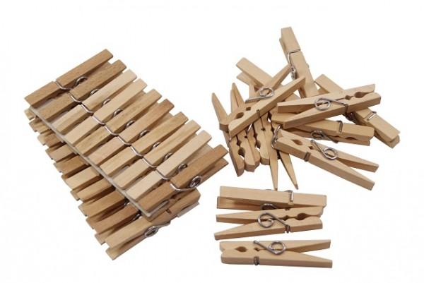 Holz Wäscheklammer 72 mm VE=20