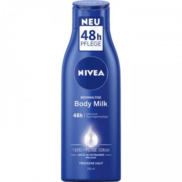 Nivea Body Milk 250 ml VE=6