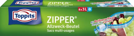 Toppits Zipper 3 ltr. VE=12