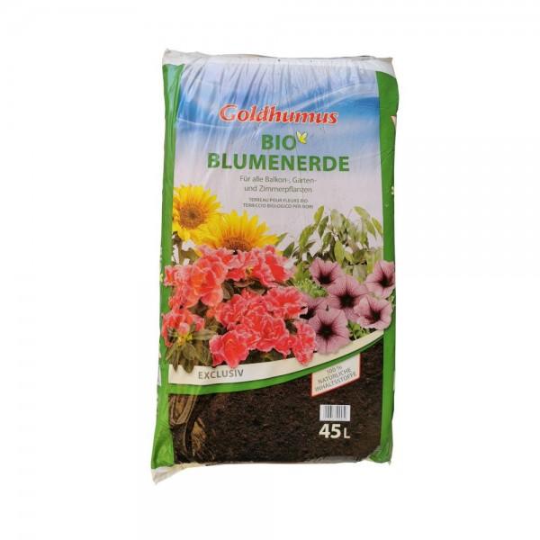 Blumenerde Goldhumus 45 ltr. PAL=54 Btl.