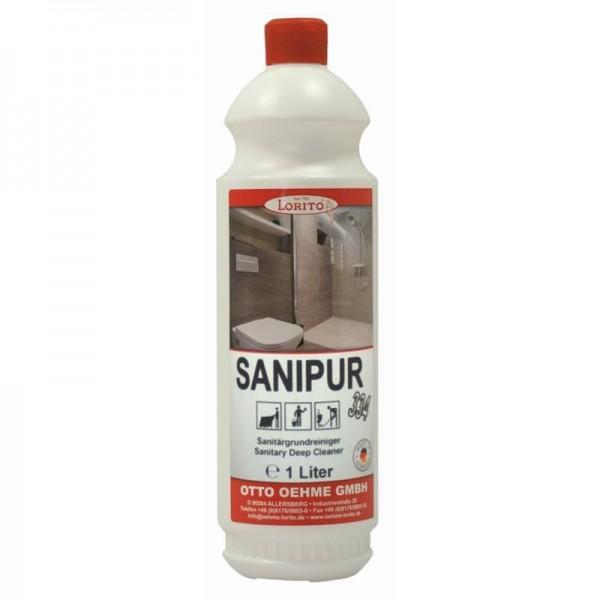 Sanipur 334 Sanitärreiniger 1ltr VE=12