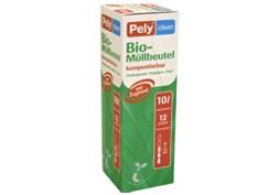 Bio-Mülleimerbeutel Pely 10ltr. VE=8