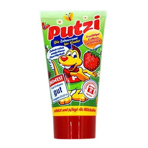 Putzi Kinder Zahncreme Erdbeere 50ml VE=12