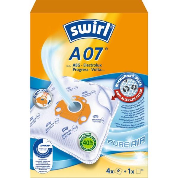 Swirl Staubsaugerbeutel A07 VE=3