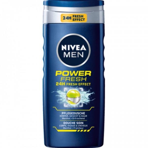 Nivea Dusche power fresh for Men 250ml VE=6