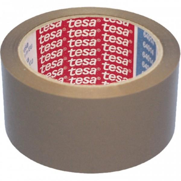 Tesa Packband, 50mm 66m braun VE=6