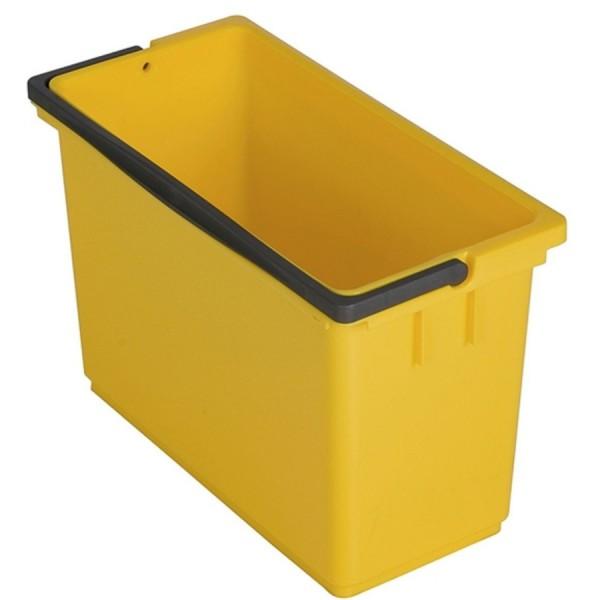 Vermop Eimer eckig 8ltr gelb