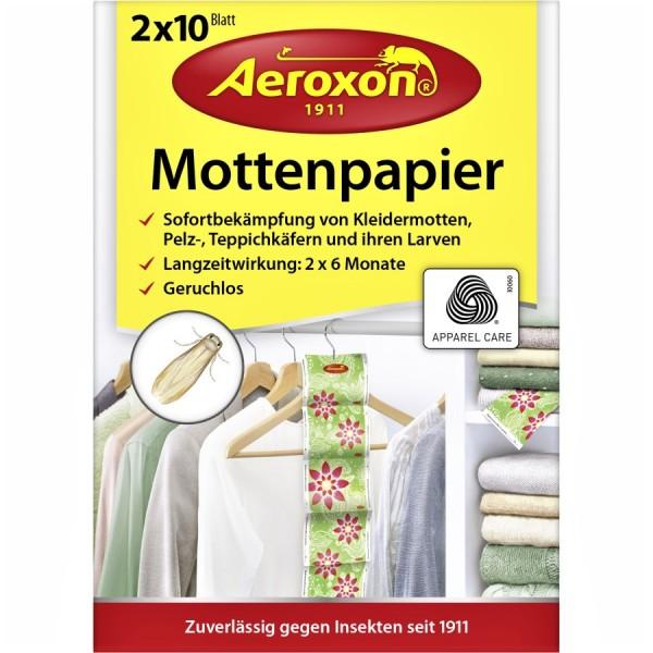 Aeroxon Mottenpapier 2er VE=24