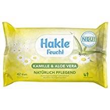 Hakle Feucht Kamille&Aloe Vera VE=12