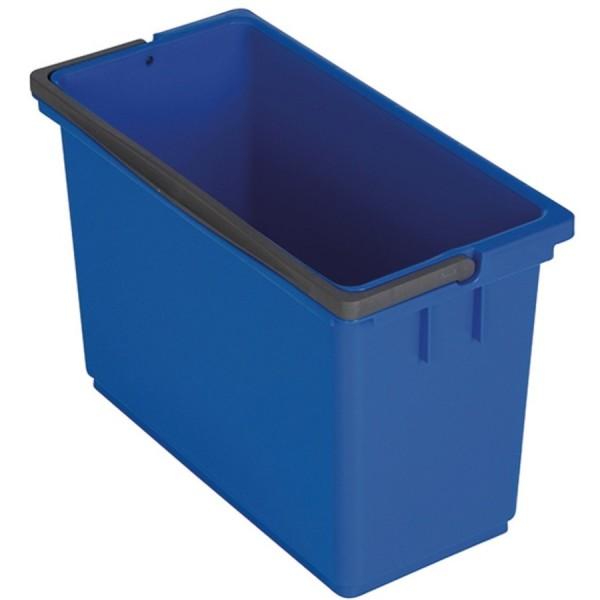 Vermop Eimer eckig 8ltr blau