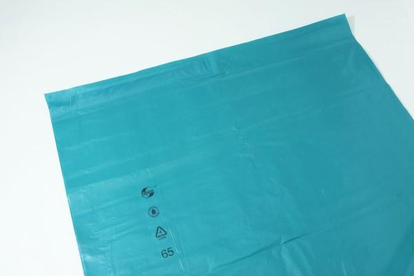 Müllsäcke 240Ltr. blau 5 Stück 125x153cm VE=10