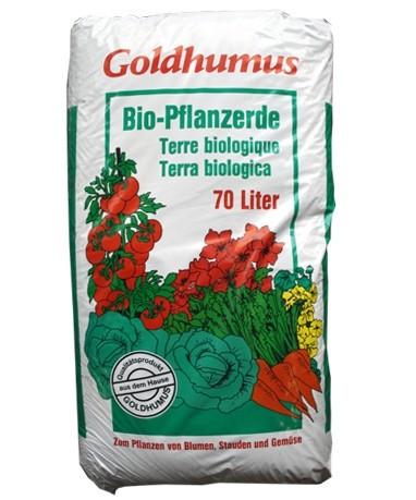 Blumenerde Goldhumus 70 ltr. PAL=36 Btl.