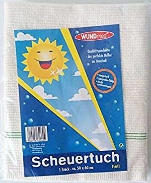 Scheuertuch hell 50x60cm 1er VE=50