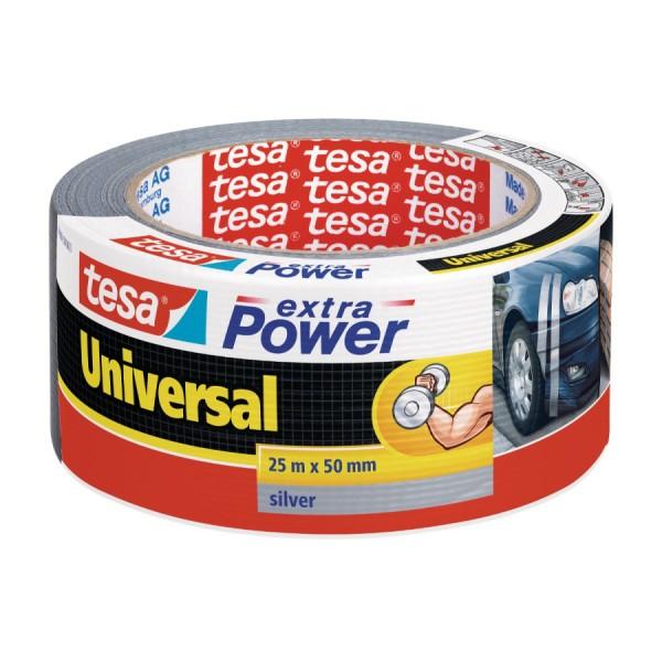 Gewebeband Tesa silber Univeral 50mm 25m VE=6