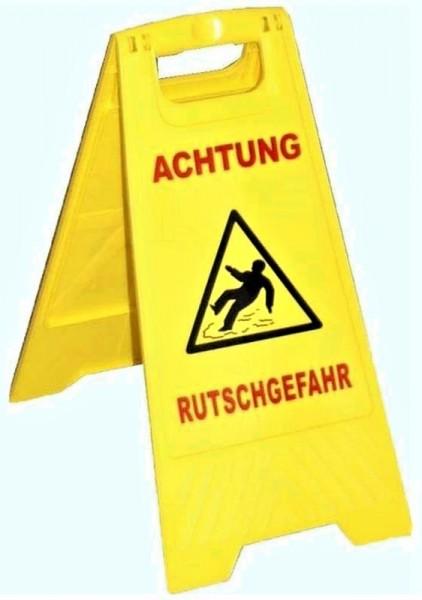 """Warnschild """"Achtung Rutschgefahr"""" VE=10"""