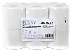 Toilettenpapier Mini Jumbo VE=12