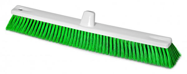 Hygienebesen HACCP weiss/grün 60cm D=0,25mm