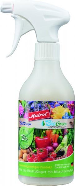 Mairol BioGreen Liquid 100% Bio-Blattdünger 500 ml