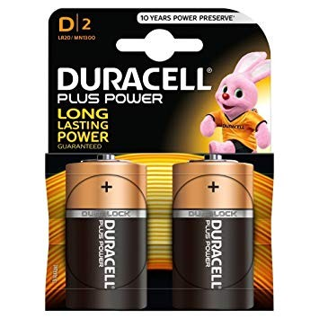 Duracell Batterie Mono (Typ-D) 2er VE=10