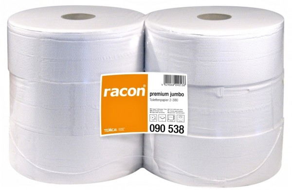 racon premium Toilettenpapier 2lg Jumbo VE=6