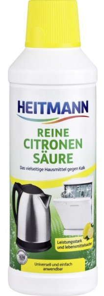 Heitmann Reine Citronen Säure 500ml VE=4