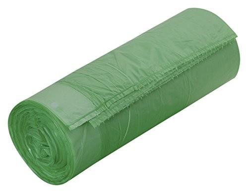Müllbeutel grün m. Zugband 60ltr. p. R. 20 St.