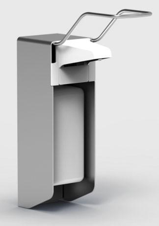 Wanddesinfektionsspender 1000ml mit Aluminiumgehäuse