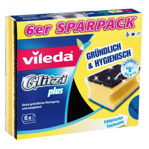 Vileda Spülschwam Glitzi Plus 6St,