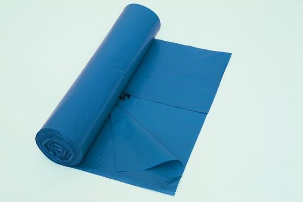 Müllsäcke blau 700x1100mm 120l VE=10