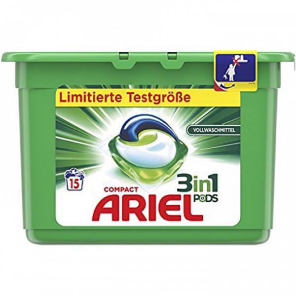 Ariel 3in1 Pods Vollwachmittel 15WL VE=3