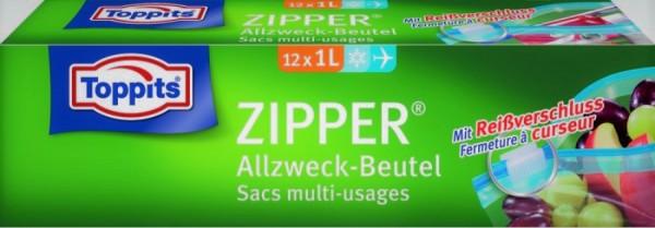 Toppits Zipper 1 ltr. VE=12