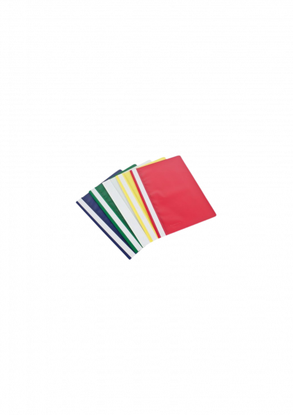 RESTPOSTEN 10 Schnellhefter A4 Toppoint Kunststoff 5 verschiedene Farben