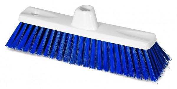 Hygienebesen HACCP weiss/blau 30cm 0,50mm