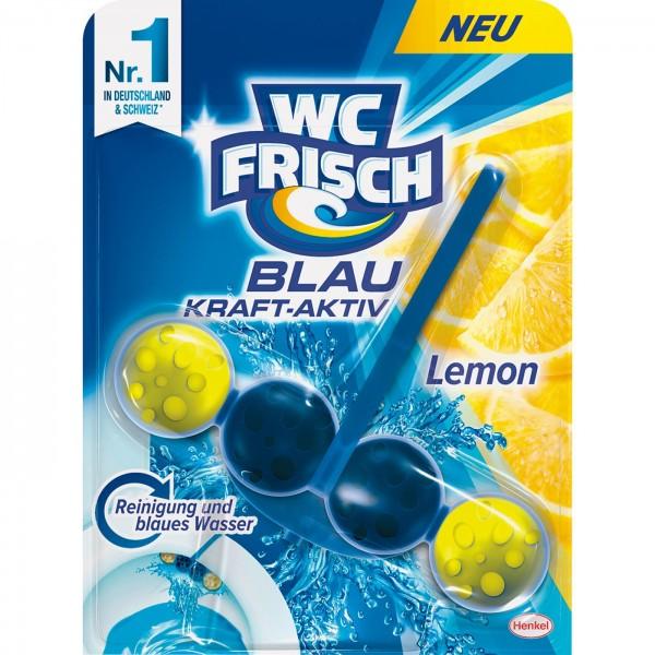 WC-Frisch Kraft Aktiv Blau Lemon VE=12