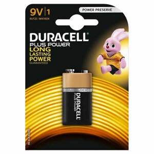 Duracell 9V Plus Power VE=10