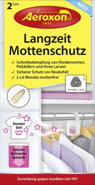 Aeroxon Mottenschutz Langzeit 2er VE=9