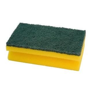 Spülschwamm, groß,grün/gelb, VE=10