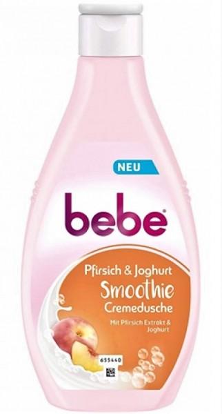bebe Cremedusche Smoothie Pfirsich&Joghurt 250ml VE=6