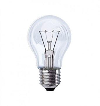 Glühlampen klar 60 W E27 VE 10