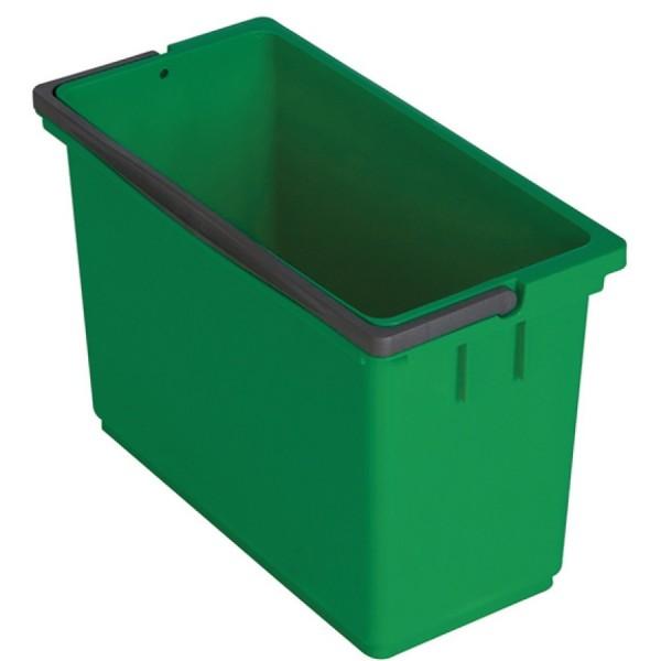 Vermop Eimer eckig 8ltr grün