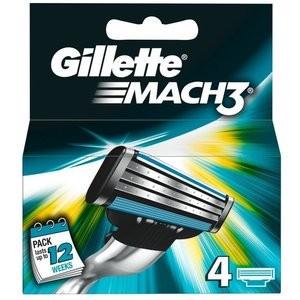 Gilette MACH3 4er Ersatzklingen VE=10