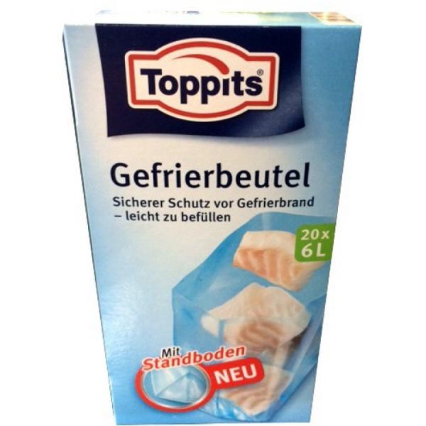 Gefrierbeutel Toppits 6ltr. VE=10