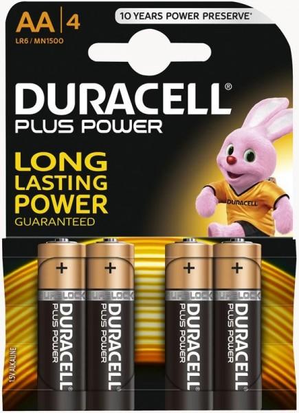 Duracell Batterie Mignon AA 4er