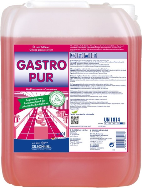 Dr. Schnell Gastro Pur 10 ltr.