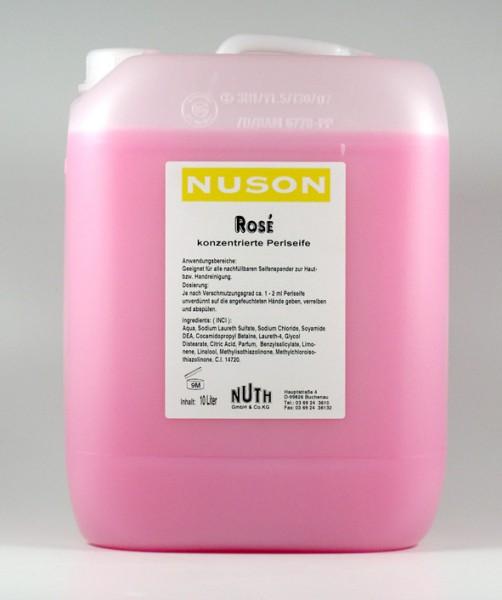 Flüssigseife NUSON Rosa 10 ltr.