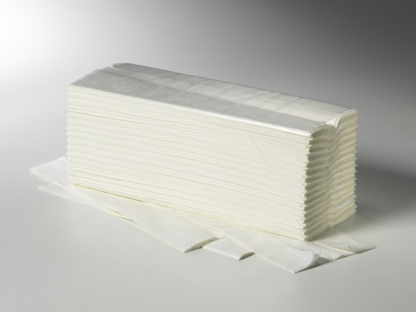 Einweghandtücher Fripa 2-lg. 25x23 cm V-Falz hochweiß