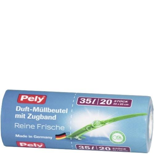 Müllbeutel Pely 35ltr. Duft 20 Stück VE=17